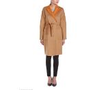 Rue La La — Max Mara Camel & Wool-Blend Reversible Coat