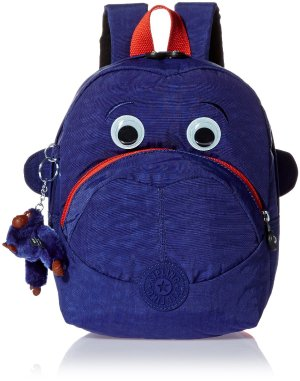 £36.5 Kipling School Backpack, Star Blue