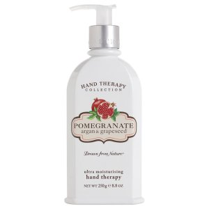 CRABTREE & EVELYN POMEGRANATE, ARGAN & GRAPESEED HAND THERAPY (250G) - FREE Delivery