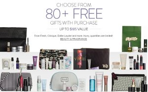 Up to 30-Piece Gift with Purchase With Your $100 Beauty & Fragrance Purchase @ Nordstrom