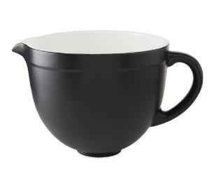 KitchenAid® Ceramic Bowl, 5-Qt.,Matte Black