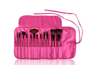 $12.3 SHANY Professional 12 Piece Vegan Cosmetics Bamboo Brush Set