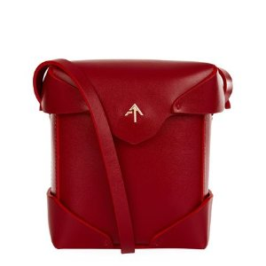 Manu Atelier Micro Pristine Box Shoulder Bag