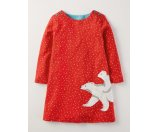 Snowy Friends Dress 33479 Dresses at Boden