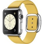 Apple Watch (first-generation) 38mm Stainless Steel Case -Marigold Modern Buckle Band