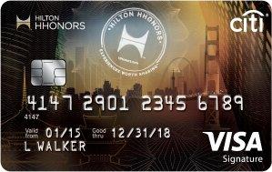 Earn 75,000 Hilton HHonors™ Bonus PointsCiti® Hilton HHonors™ Visa Signature® Card