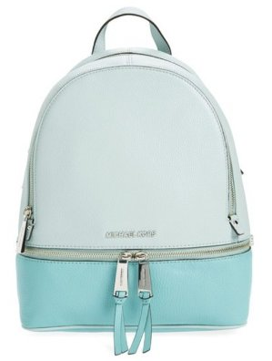 MICHAEL Michael Kors 'Small Rhea' Leather Backpack