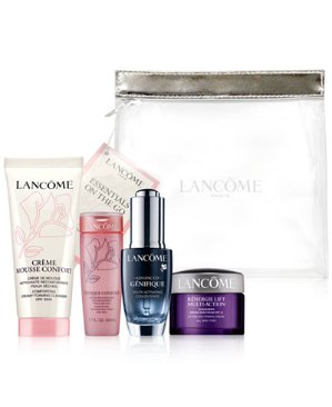 Only $82 + Free14-Pc. Gift Lancôme  Essentials On The Go 5-Pc. Set @ macys.com