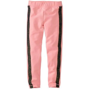 Girls Cozy Leggings In French Terry | Sale Clearance Girls Pants