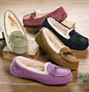 UGG® Australia Suki Suede Slippers