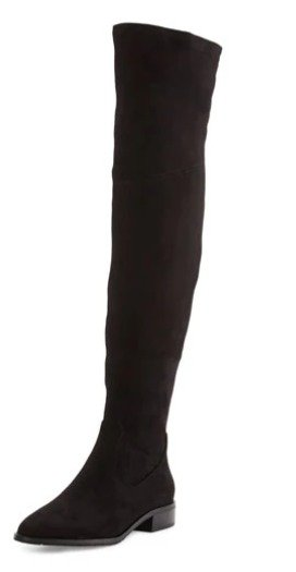 Ivanka Trump Livi Suede Over-the-Knee Boot