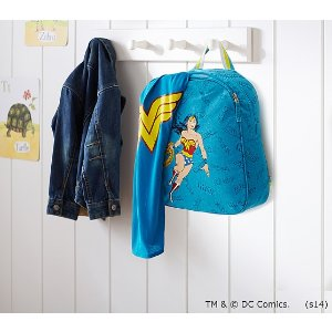 Wonder Woman™ Cape Backpack | Pottery Barn Kids