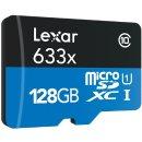Lexar 128GB Class 10 633x microSDXC (up to 95MB/s) Memory Card