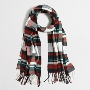 Plaid scarf : Cold-Weather Accessories | J.Crew Factory