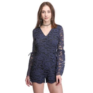 Rahi Cali Lace Bell Sleeve Romper   South Moon Under