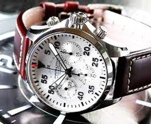 Hamilton Men's Khaki Aviation Pilot Auto Chrono Watch