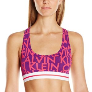 Calvin Klein Women's Modern Cotton Ck Logo Bralette