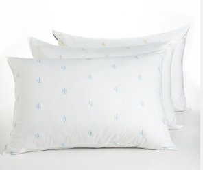 2 For $15 Ralph Lauren Logo Pillow,  CK Density Pillows @ Bon-Ton