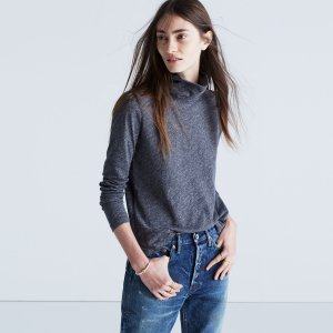 Whisper Cotton Turtleneck : AllProducts | Madewell