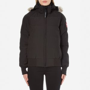 Canada Goose Women's Savona Bomber Jacket - Black - Free UK Delivery over £50