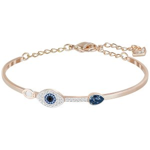 Duo Evil Eye Bangle - Jewelry - Swarovski Online Shop