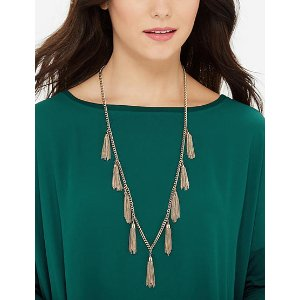 Tassel Fringe Necklace | Women's Jewelry | THE LIMITED