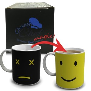 Magic Morning Face Changing Ceramic Coffee/tea Cup