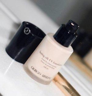 20% Off Lasting Silk UV Foundation @ Giorgio Armani Beauty