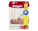 Amazon.com: Huggies Snug & Dry Diapers, Size 1, 276 Count (One Month Supply): Health & Personal Care