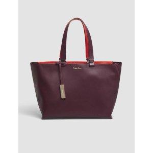 julia leather tote bag | Calvin Klein