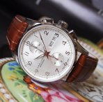 $699 Hamilton Jazzmaster Maestro Men's Auto Chrono Watch