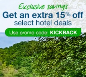 Extra 15% OffSelect Hotel Sale @ Orbitz