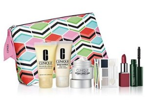 10% Off +Free 7-pc Gift Setwith any Clinique Purchase of $27 @ Lord & Taylor