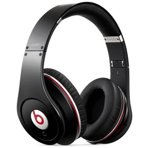 Refurbished Beats Studio Over-the-Ear Headphones, Black