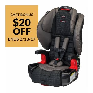 Britax Pioneer G1.1 Harness-2-Booster Car Seat - Reflect