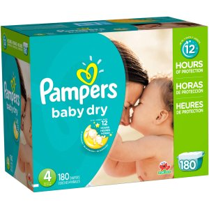 Pampers Baby Dry Diapers, Size 4 (Choose Diaper Count) - Walmart.com