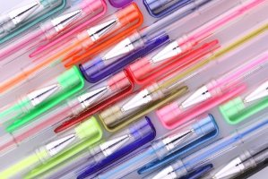 Smart Color Art - 100 Colors Gel Pen Set - Perfect for Coloring