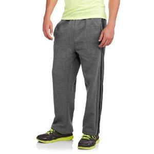 Side Stripe Big Men's Fleece Pant