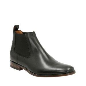Narrate Plain Black Leather