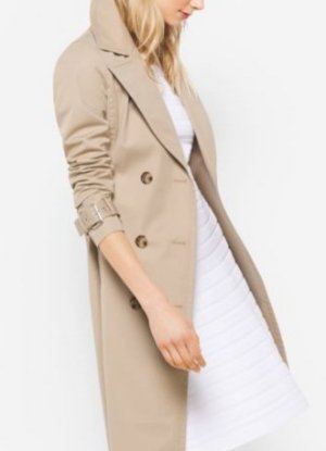 Up to 63% Off MICHAEL MICHAEL KORS  Cotton Trench Coat Sale @ Michael Kors