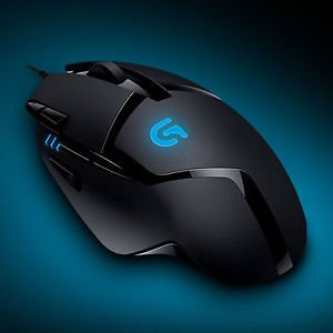 Logitech G402 Hyperion Fury FPS Gaming Mouse with High Speed Fusion Engine