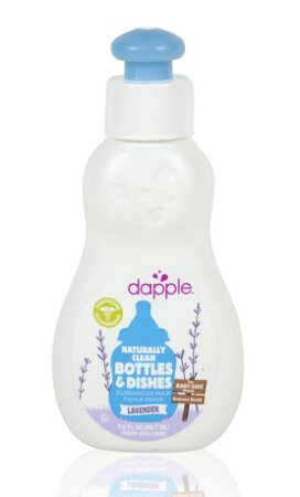 $0.97 Dapple Baby Bottle and Dish Liquid, Lavender, Travel Size, 3 Fluid Ounce