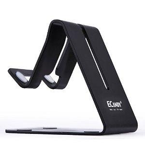 $0.99 Ecandy Solid Aluminum Desktop Stand for samrtphone or tablet (Black)
