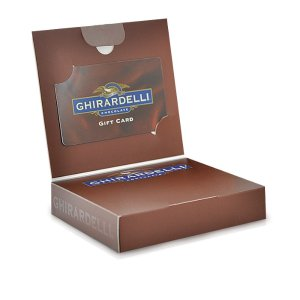 Gift Card Box with SQUARES Chocolates