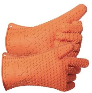 PUREFLY Orange Silicone Heat Resistant Gloves