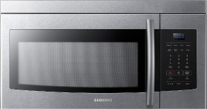 Samsung - 1.6 Cu. Ft. Over-the-Range Microwave - Stainless