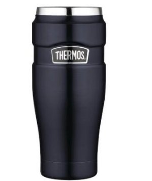 Thermos Stainless King 16 Ounce Travel Tumbler Midnight Blue