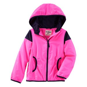 Kid Girl Neon Active Jacket   OshKosh.com