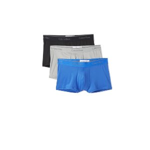 Calvin Klein Underwear 3 Pack Microfiber Low Rise Trunks | EAST DANE | Use Code: MAINEVENT16 for Up to 30% Off
