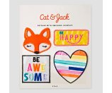 Kids' Patches Cat & Jack™ - Fox/Heart : Target